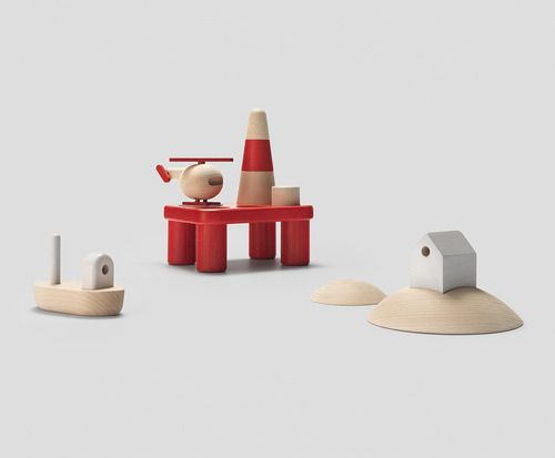 new wooden toys from permafrost. offshore & archipelago