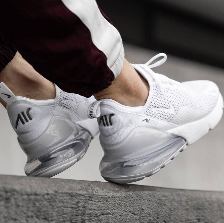 Nike Air Max 270 in weiss 943345 103 | Nike air max, Nike