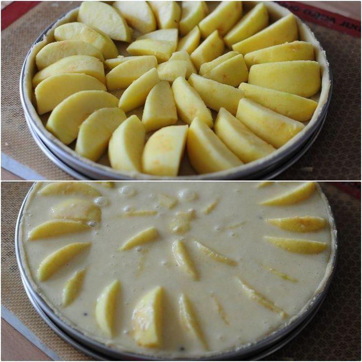 Tarte Normande aux pommes - Blog de cuisine créative, recettes / popotte de…