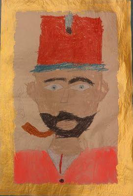Csak kreatívan- A rajztanár szeme: Huszár portré, március 15-re