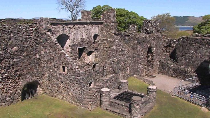 Scotland Travel Dunstaffnage Castle, near Oban, Argyll and Bute, Scotland