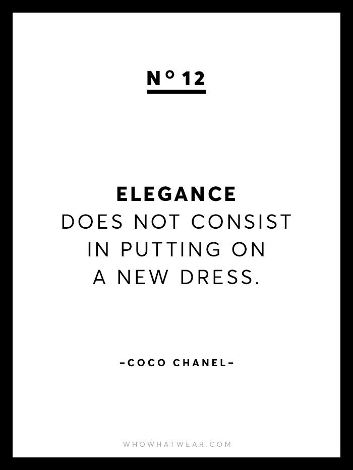 20 Amazing Coco Chanel Quotes on Life Fashion and True