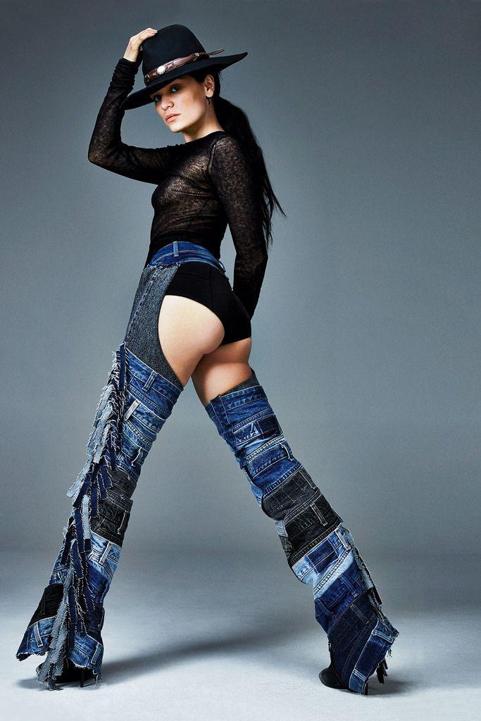 Джесси Джей — Фотосессия для «Glamour» UK 2014