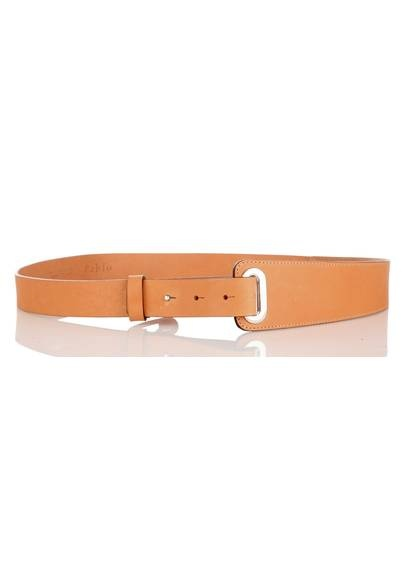 Ceinture cuir beige rose by PABLO BY GERARD DAREL