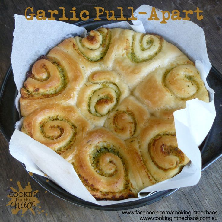 Garlic Pull Apart - Thermomix Recipe