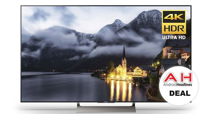 Deal: Sony XBR-X900E 65-inch UHD Smart LED TV & Google Home for $1498 – 1/15/18 #Android #Google #news