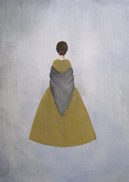 Jane Eyre painting on Etsy - must buy this