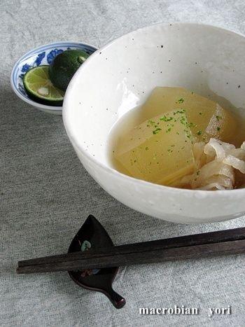 マクロビ簡単レシピ】冬瓜と切り干し大根煮 by yoriさん | レシピ ...