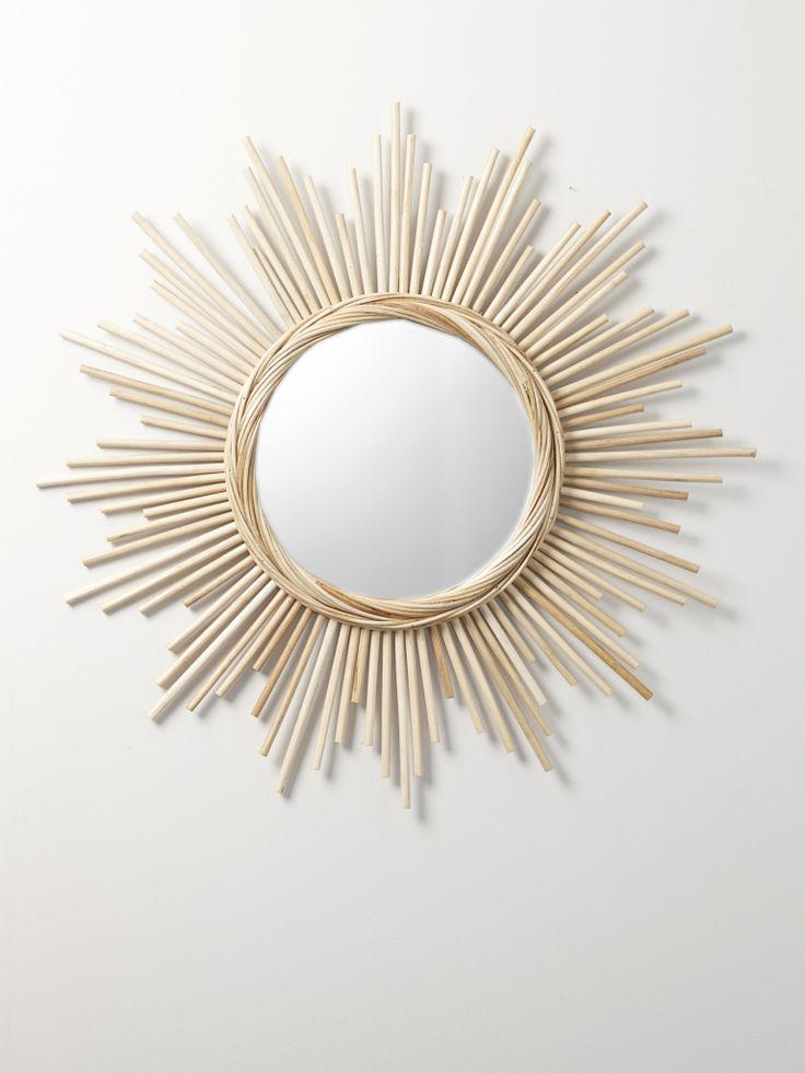1000 ideas about miroir en rotin on pinterest miroir de for Miroir rotin