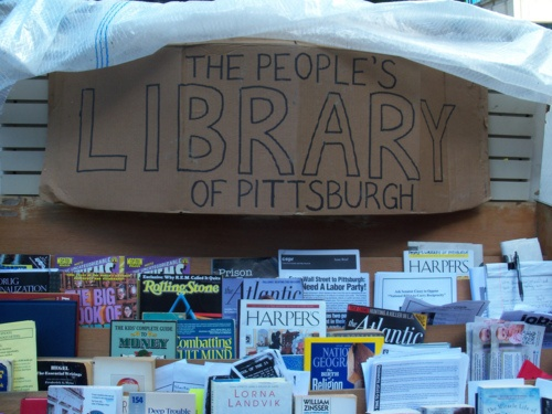 The People's Library of PittsburghLibrarians Life, People'S Libraries, Occupy Movement, Junk Bookshop, People Libraries