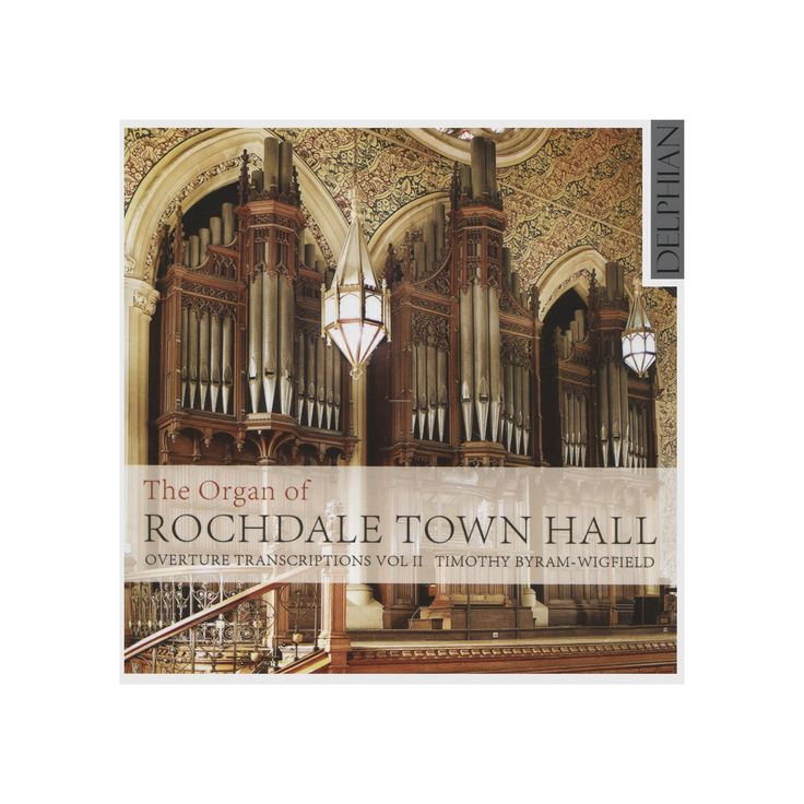 Timo byram-wigfield - Binns organ of rochdale town:Vol ii (CD)