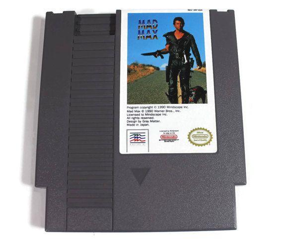 Mad Max Nintendo NES 1990 Retro Video Game by Retro8Games on Etsy