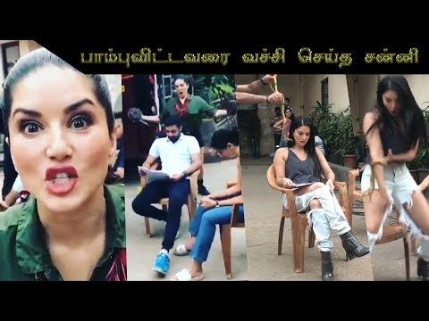 sunny leone pranked by her movie team, and sunny leone revenge video