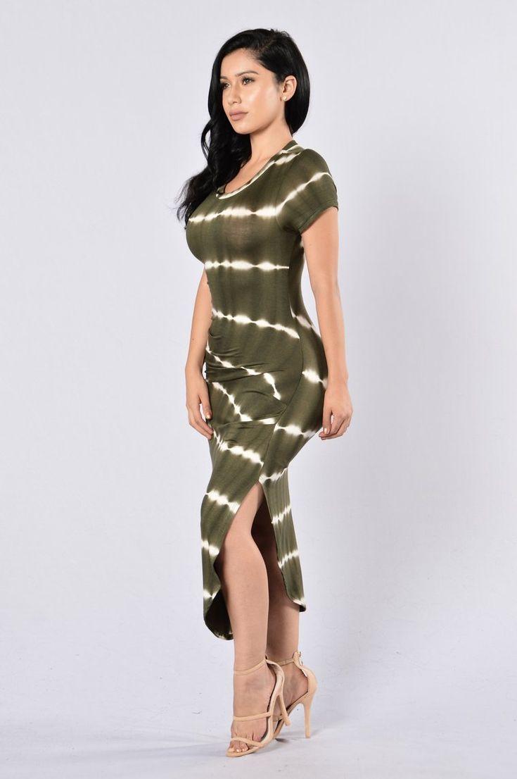 City Adventurer Dress Olive in 2020 Dresses, Olive tie