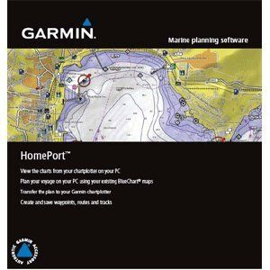 Homeport Marine Plan Software 2GB Microsd/sd Card by Garmin. $27.00. Marine Planning Software - HomePortThis new marine planning software is a must-have tool for mariners heading out on the open water. HomePort enables the use of existing BlueChartr data from your preloaded chartplotter or preprogrammed card to help plot a course on your PC. You can then transfer this planned route back to your chartplotter and head out on your adventure. In addition to managing wa...