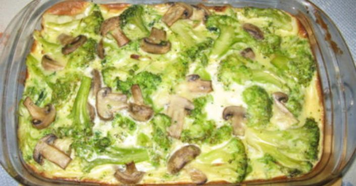 Zapečená brokolica s hubami na jednom pekáči! Rýchla príprava a vynikajúca chuť! - Báječná vareška