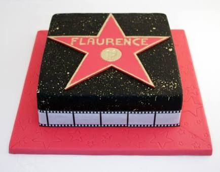 hollywood walk of fame cake - Google Search More
