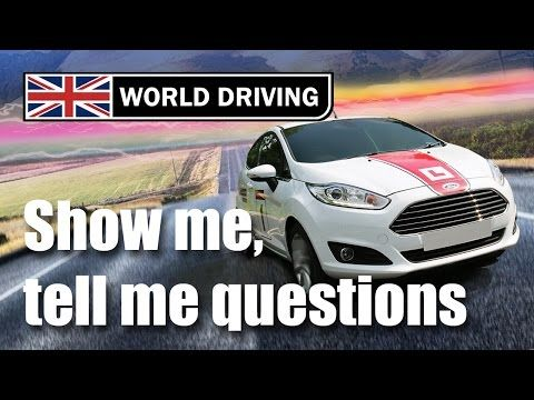 Show me, tell me questions 2016: Practical driving test questions. - YouTube