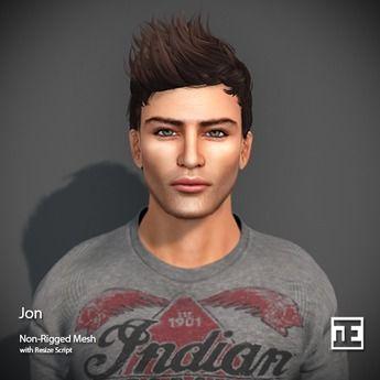 TRUTH HAIR Jon (Mesh Hair) - DEMO