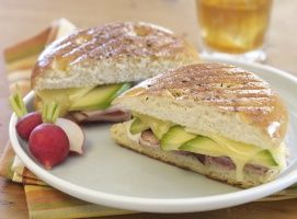 Grilled Ham, California Avocado and Gouda Panini | California Avocado Commission