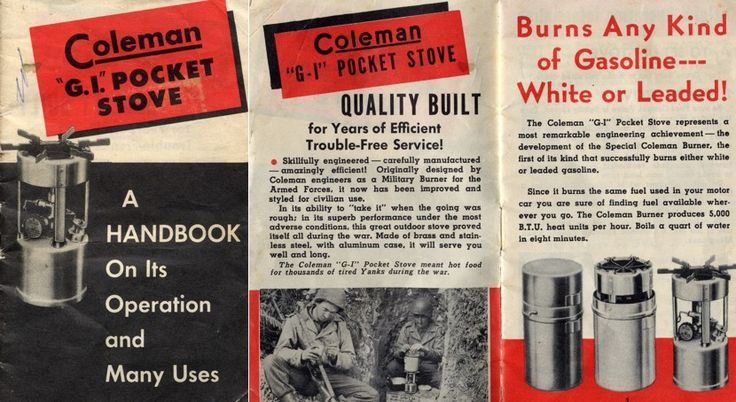 1000 Images About Coleman Camping Amp Other Vintage Gear On