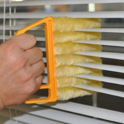 Fashionable Venetian Blind Detachable Cleaning Brush (ORANGE) | Sammydress.com Mobile