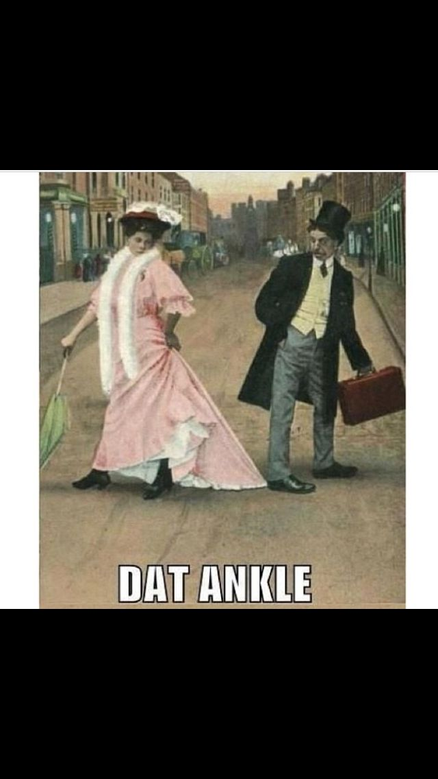 Dat ankle tho.
