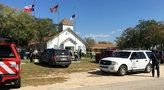 Witnesses said a white man in his 20s dressed in all black and wearing a tactical vest started shooting with an assault rifle as he approached First Baptist Church in Sutherland Springs. Police said the gunman killed two people outside before entering the church and spraying bullets at the congregation during morning services in the countryside town about 30 miles southeast of San Antonio. At least 46 people were hit with bullets, and the dead ranged in age from 5 to 72, authorities said…