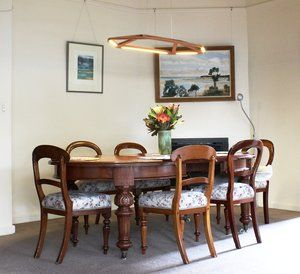 Pendant Lighting In The Dining Room