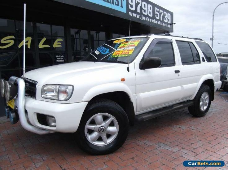 2004 Nissan Pathfinder MY03 TI (4x4) White Automatic 4sp A Wagon #nissan #pathfinder #forsale #australia
