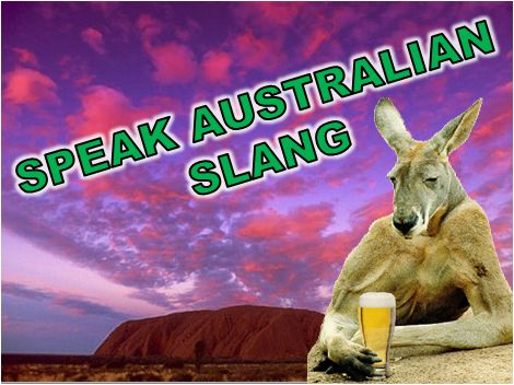 RealLife English – Speak Australian English: Australian Slang Expressions (with Podcast!) ~ Note ... Kangaroos don't actually drink beer :)