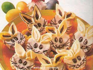 Cukrovi na Vanoce: Velikonoční zajíčci