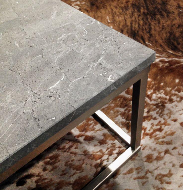 Marmeren salontafel rechthoek