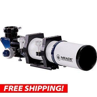 Meade Series 6000 80mm ED APO Refractor Telescope: Meade Series 6000 80mm ED Triplet APO Refractor… #Telescopes #Binoculars #Optics