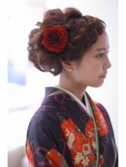 リッシュヘア riche hair 紙屋町店ゆるふわ☆編みこみスタイル