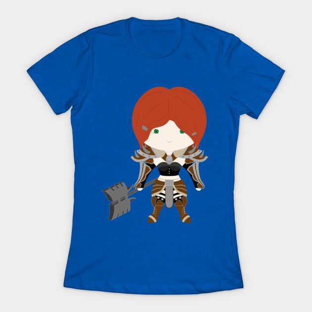 Barbarian Diablo 3 Womens T-Shirt
