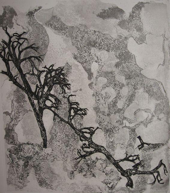 """""""Tunturipuut"""" by Finnish artist Tuulikki Pietilä (1983)."""