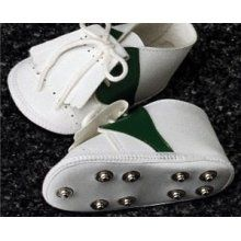 Baby Golf Shoes to go with his golf onesie for a day out on the links with dad, papa, and uncle jeremy :)