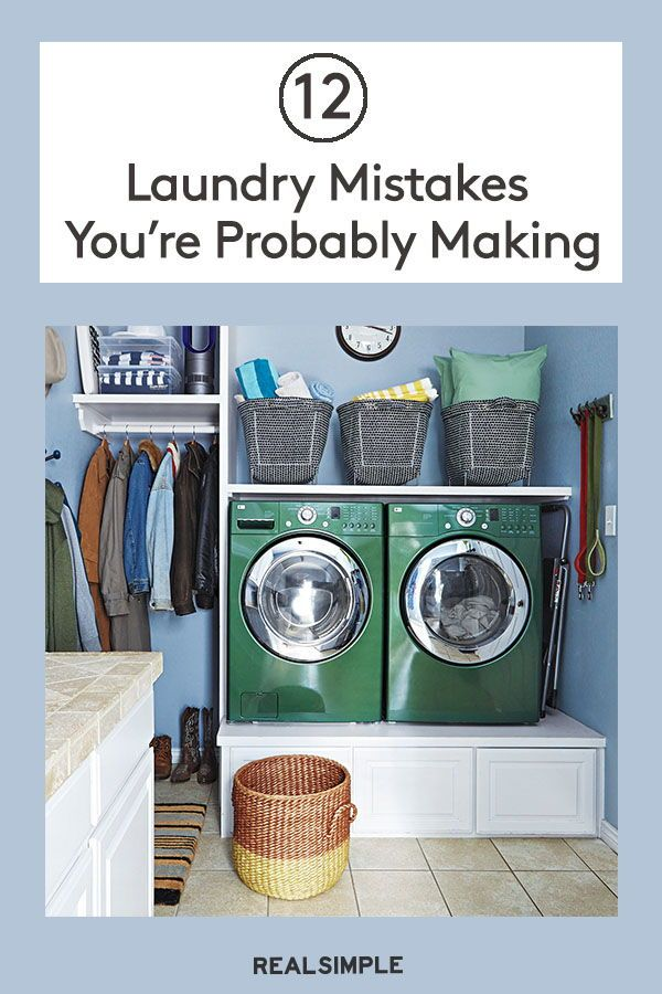 12 Laundry Mistakes You Re Probably Making Deep Cleaning Tips