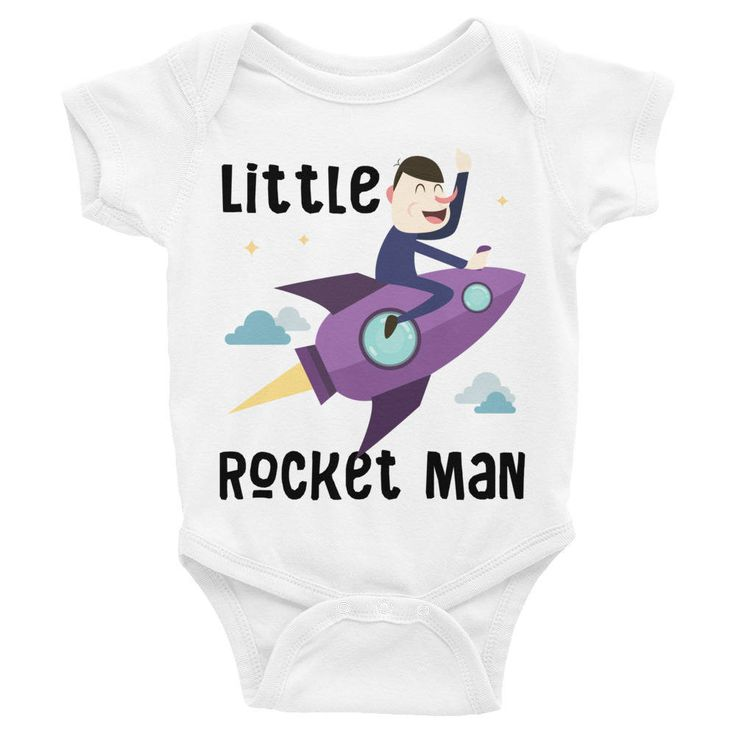 Funny Little Rocket Man Bodysuit Baby Onesie, Funny Onesie, Funny Baby Onesies,Funny Onesies For Boy, Funny baby bodysuit,Cute baby onesies http://etsy.me/2twJqQu #clothing #children #bodysuit #funnyonesie #funnybabyonesies #funnybabybodysuit #cutebabyonesies #funny #l