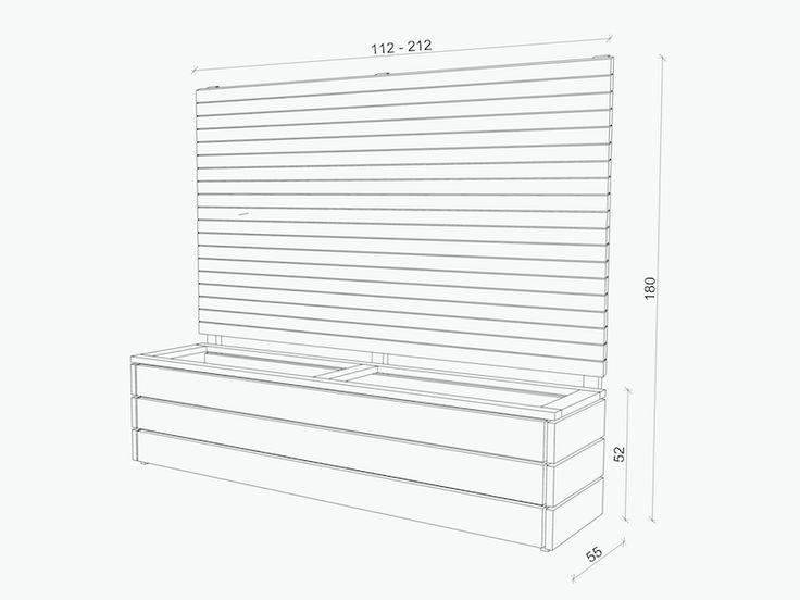 ber ideen zu rankgitter auf pinterest pflanzkasten rankgitter holz und staudenhalter. Black Bedroom Furniture Sets. Home Design Ideas