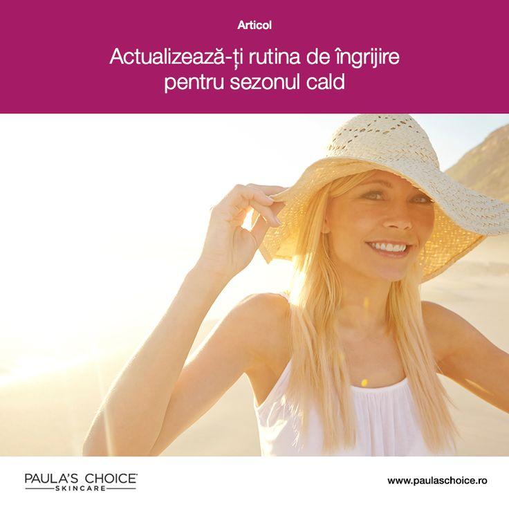 Fiecare sezon al anului vine cu anumite provocări pentru pielea noastră. Vara, cu atât mai mult datorită temperaturii crescute, trebuie să fim mai atente când alegem produsele pe care le aplicăm pe piele. Află care sunt cele mai importante lucruri pe care trebuie să le ai în vedere când vine vorba de rutina de îngrijire din timpul verii.