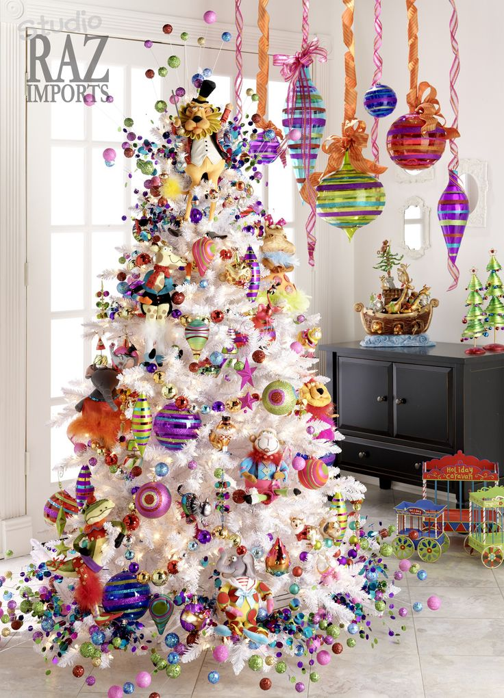 1000 ideas about Whimsical Christmas Trees on Pinterest