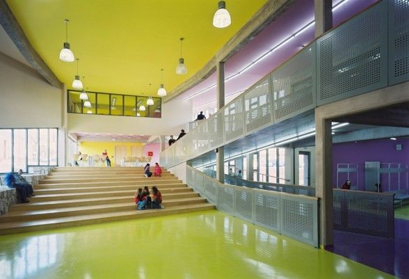54 best images about schools architecture and interiors on - Interior design for school buildings ...