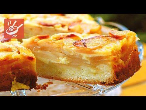 Torta alle mele e crema pasticcera (Spadellandia)