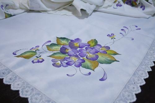 Mantel Pintado A Mano | pintura | Pinterest