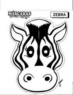 CANTINHO DA PROF. IVANI GULARTE: MASCARAS DE ANIMAIS