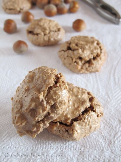 "Brutti ma buoni ""Ugly but tasty""- hazelnut meringue biscuits. Found in Biscottificio Artigiano Innocenti in Trastevere, Rome (where all the authentic, amazing Italian food can be found)"