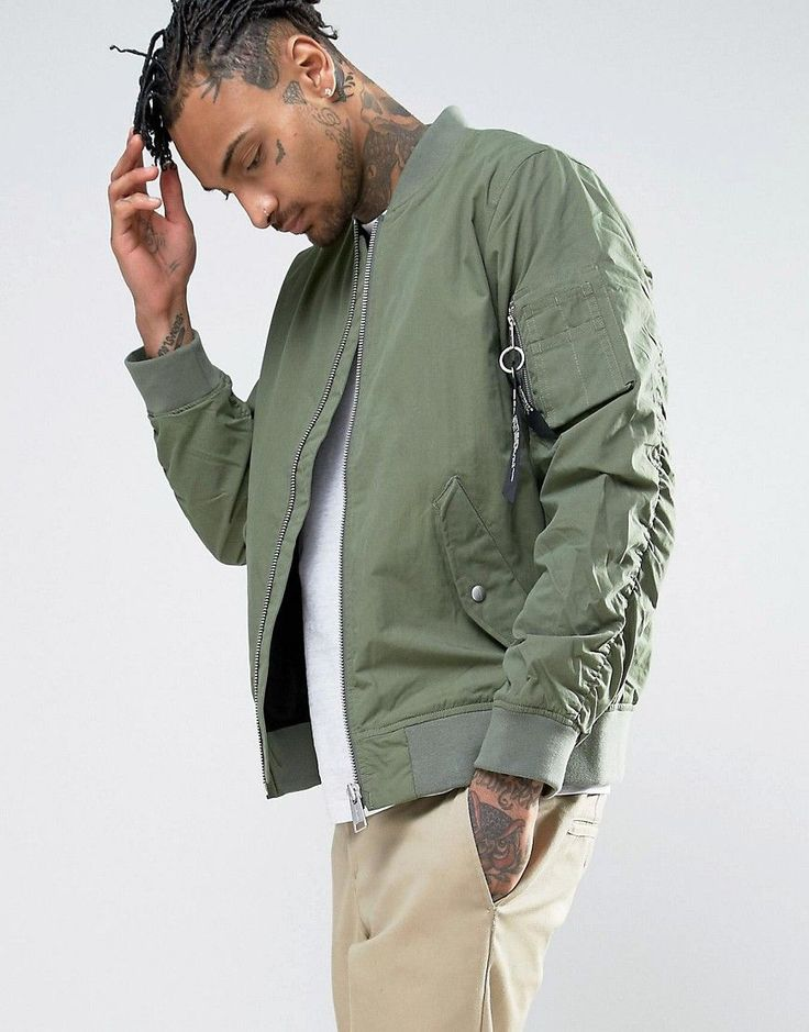 Get this Carhartt WIP's bomber jacket now! Click for more details. Worldwide shipping. Carhartt WIP Adams Bomber Jacket - Green: Bomber Jacket by Carhartt WIP, Lightweight cotton-rich woven fabric, Lined with internal pocket, Ribbed collar, Zip opening, Side pockets, Ribbed hem and cuffs, Regular fit - true to size, Machine wash, 75% Cotton, 25% Nylon, Our model wears a size Medium and is 185.5cm/6'1 tall. More than a century after Hamilton Carhartt established his Detroit business, Carhartt…