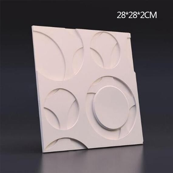 3d Gypsum Plaster Mold For Wall Brick 282cm Concrete Wall Etsy In 2020 Decorative Wall Panels Wall Tiles Design Wall Molding